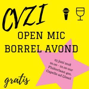 CVZI OPEN MIC BORREL AVOND @ Charles Vermeer | Capelle aan den IJssel | Zuid-Holland | Nederland